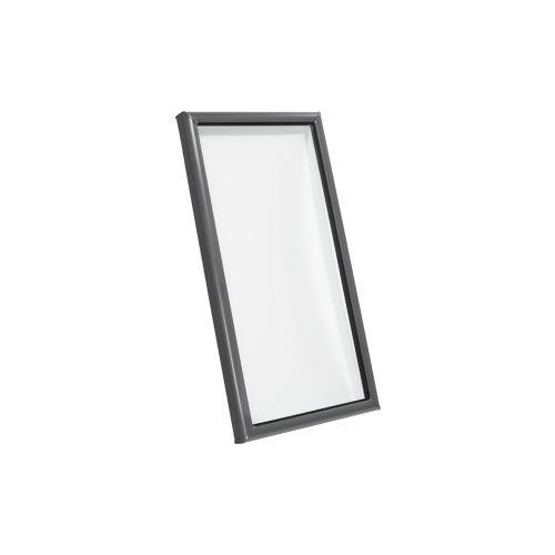 Fenêtre De Toit Fixe En Bois En Aluminium à Double Vitrage
