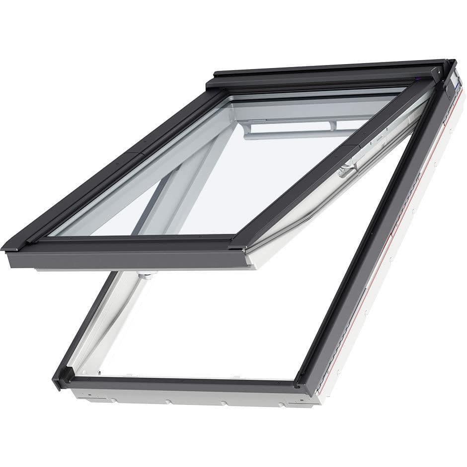 Fenêtre De Toit à Projection En Bois En Aluminium à Double
