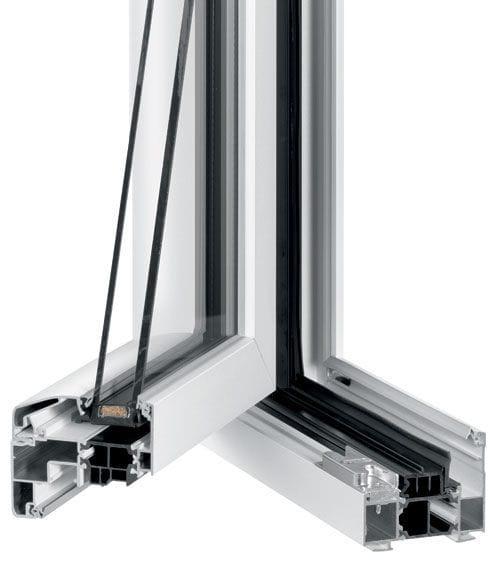 Fenêtre Battante En Aluminium à Double Vitrage à Triple