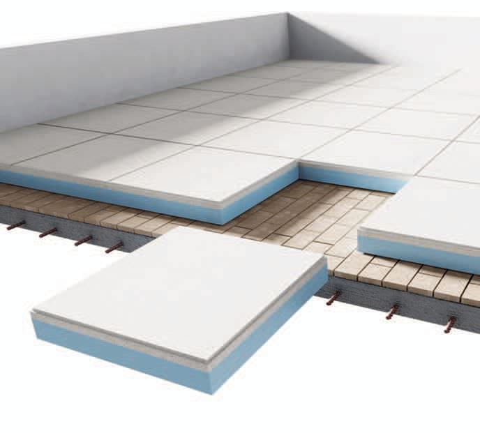 Dalle beton polystyrene extrudé