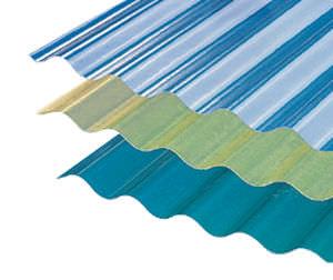 Toiture fibre de verre