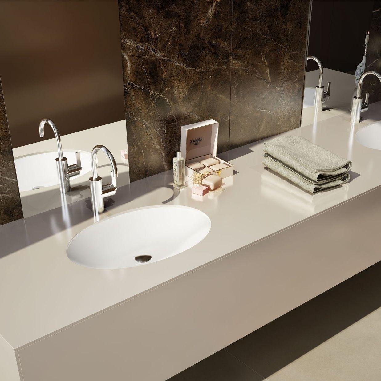 vasque en gres plan vasque en grès cérame - MAXIMUS UNI