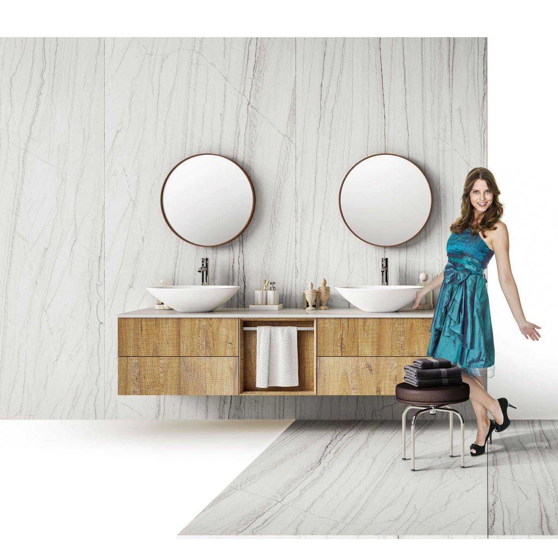 vasque en gres plan vasque double - en grès cérame - MAXIMUS MACAUBAS