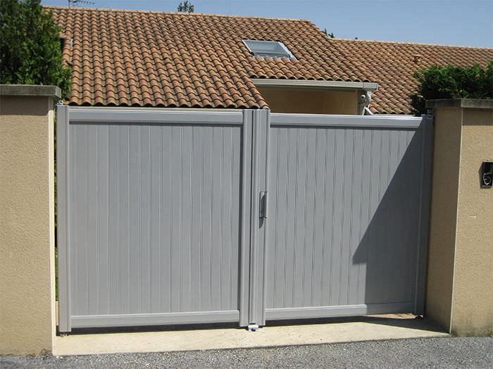 profilé aluminium portail