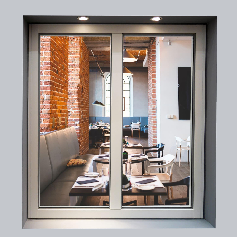 Fenêtre Battante Oscillo Battante à Soufflet En Aluminium