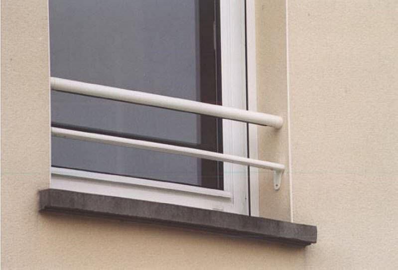 Garde Corps En Aluminium à Barreaux Dextérieur Pour Fenêtre