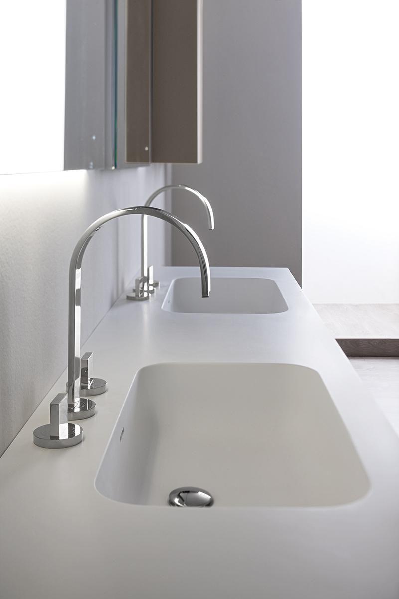 Vasque Double Encastrer Rectangulaire En R Sine Manhattan