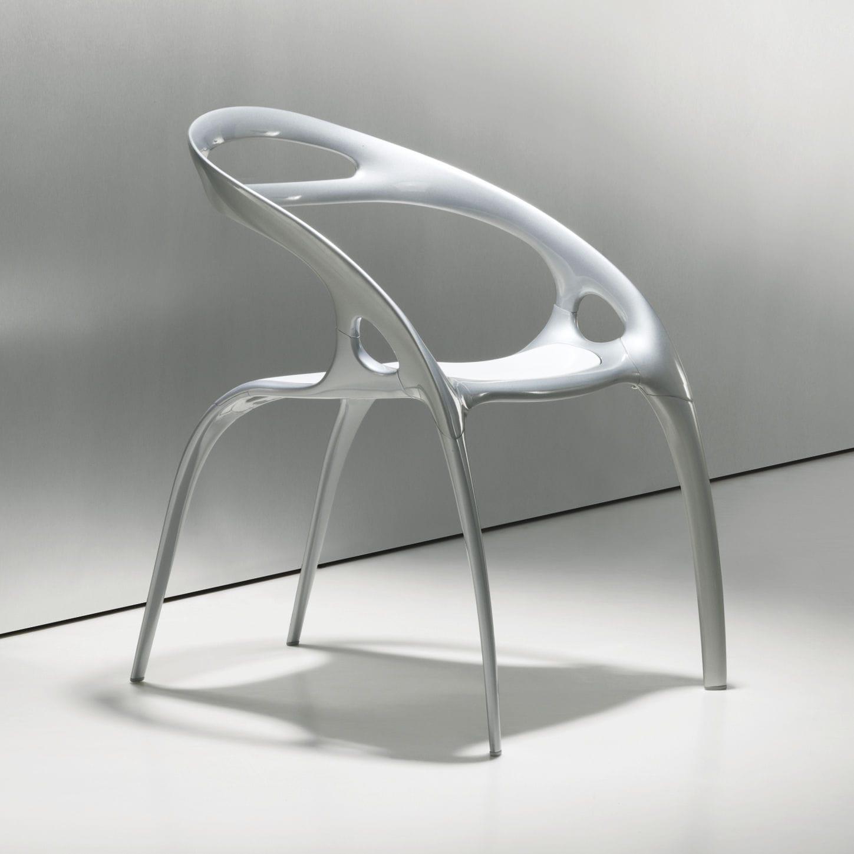 Chaise Design Original En Métal Par Ross Lovegrove GO - Chaise design
