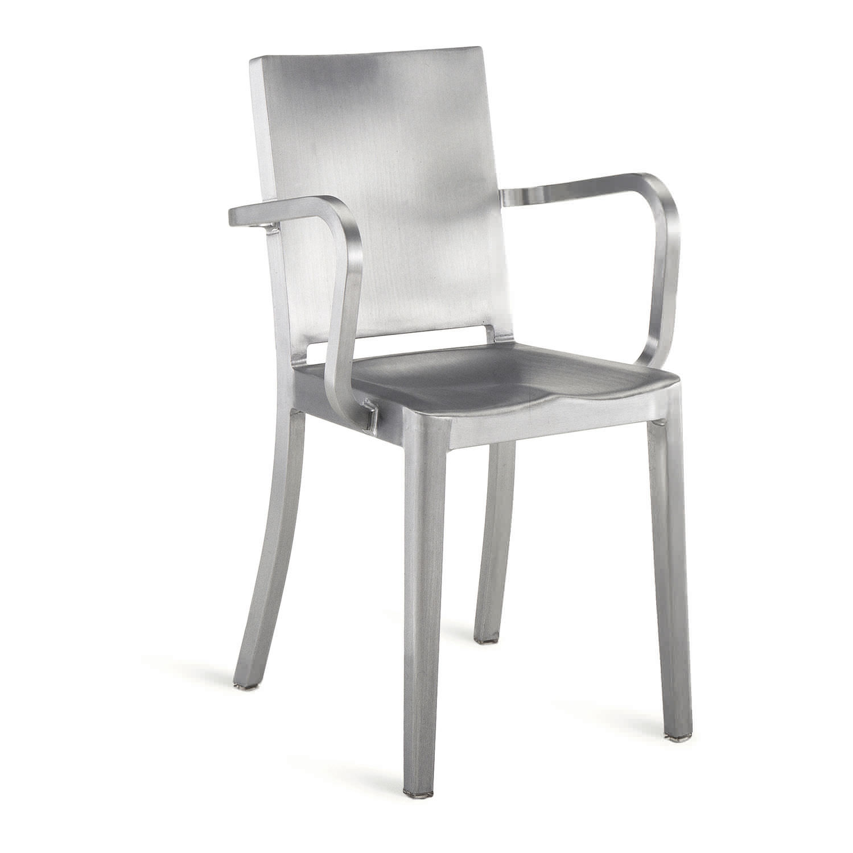 chaise navy aluminium