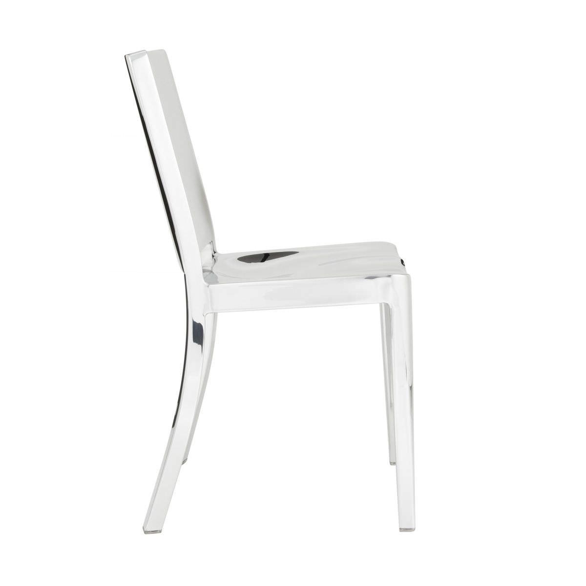 Chaise contemporaine / en aluminium / par Philippe Starck - HUDSON on