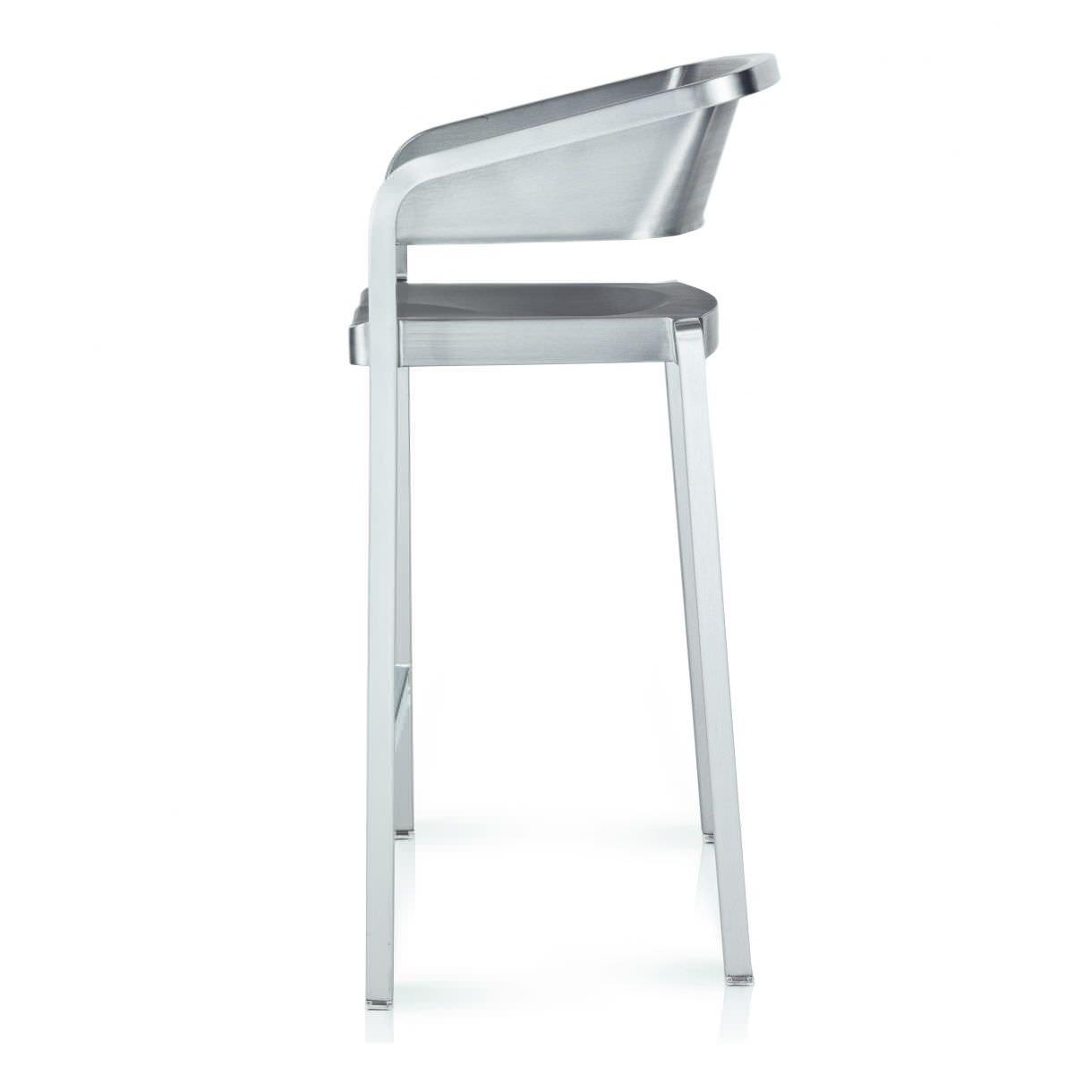 chaise de bar contemporaine / en tissu / avec accoudoirs / par ... - Chaise Bar Avec Accoudoir