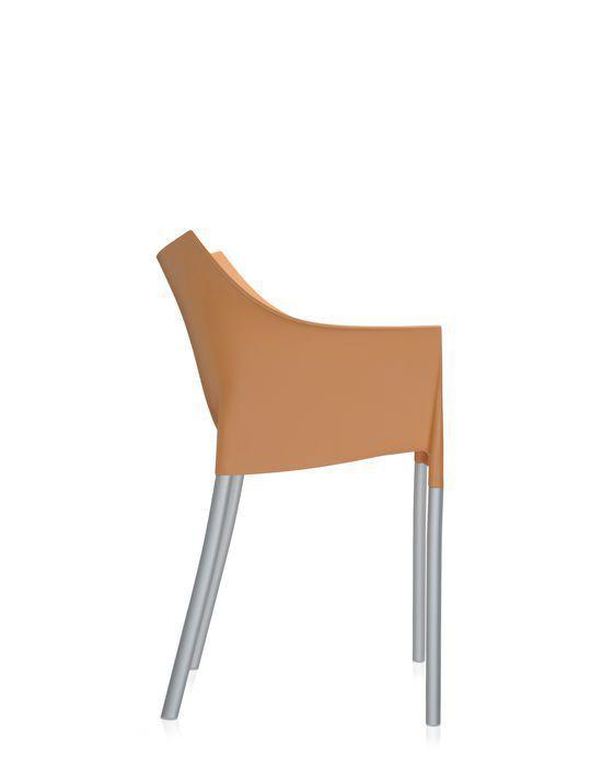 Chaise contemporaine / empilable / avec accoudoirs / en ...