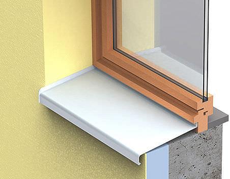Appui De Fenêtre En Aluminium Dextérieur Protegenet Dani Alu