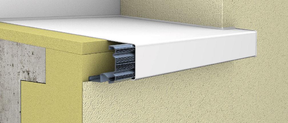 Appui De Fenêtre En Aluminium Dextérieur Protègenet Tradition