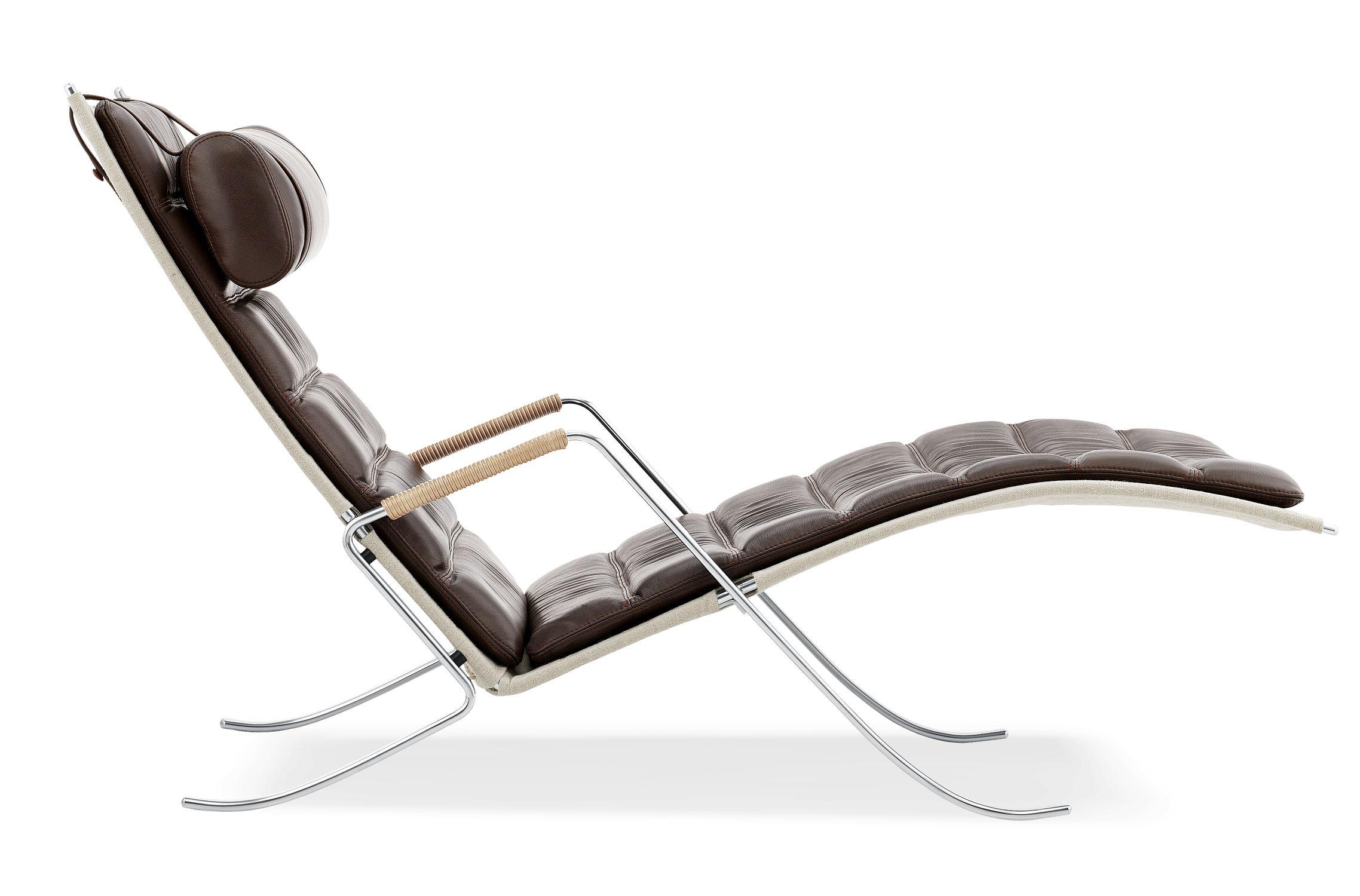 Chaise longue contemporaine / en cuir - FK 87 GRHOPPER by P ... on chaise en transparent, chaise en bois, chaise longue, chaise lounge,