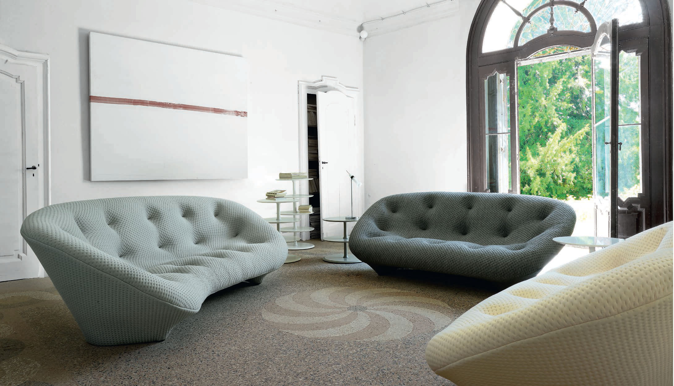 Canapé Contemporain En Tissu Par Ronan Erwan Bouroullec - Canapé tissu contemporain
