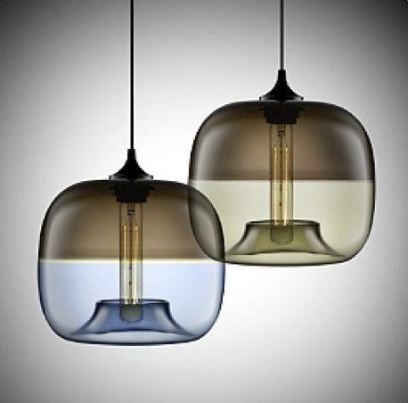 suspension / design original / en verre / en verre soufflé - encalmo