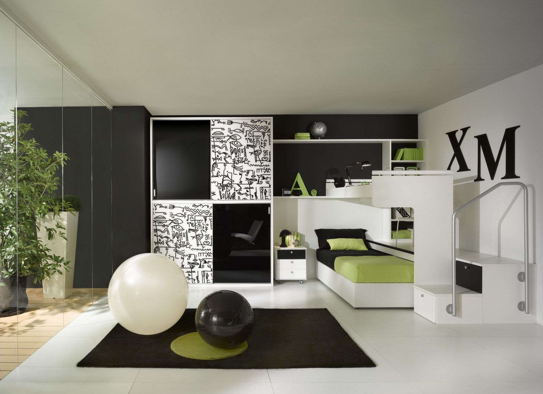 Kids Bed Rooms. Luxurious, Colorful Modern Bedroom Sets for Kids by ...