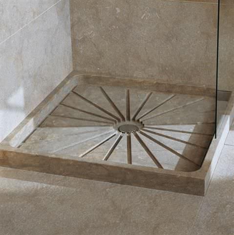 receveur de douche marbre