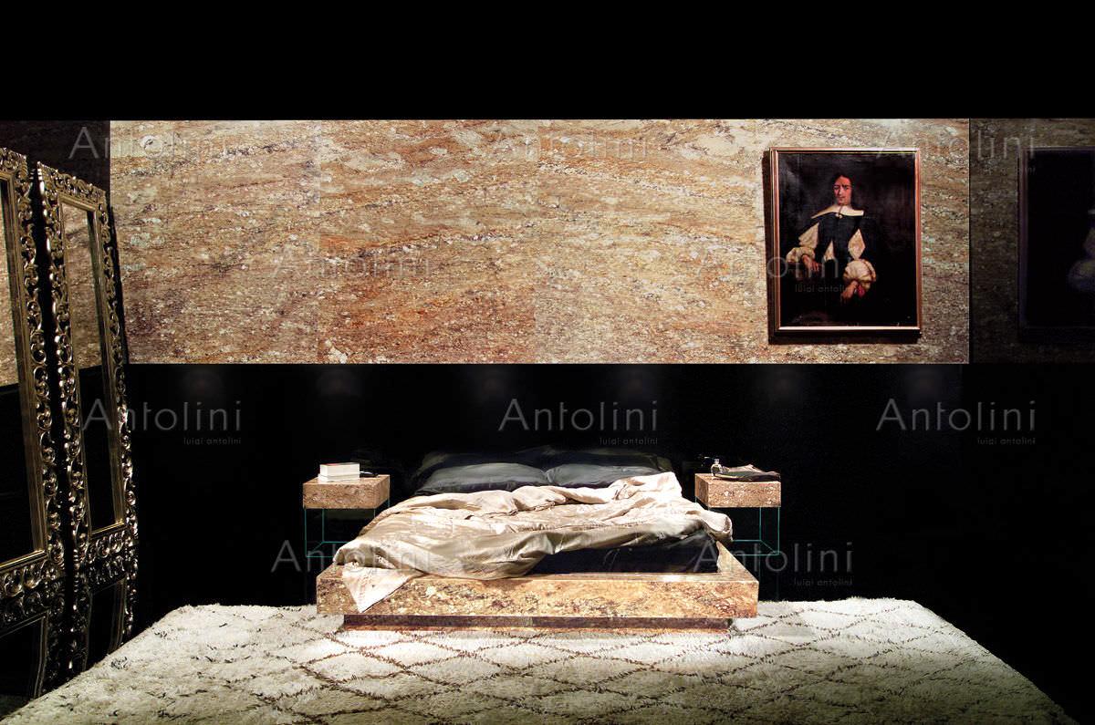 Carrelage d\'intérieur / mural / en granit / uni - TAUPE GOLD ...