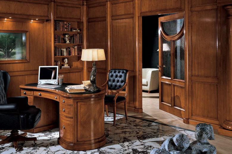 Bureau en bois classique professionnel lord bamax