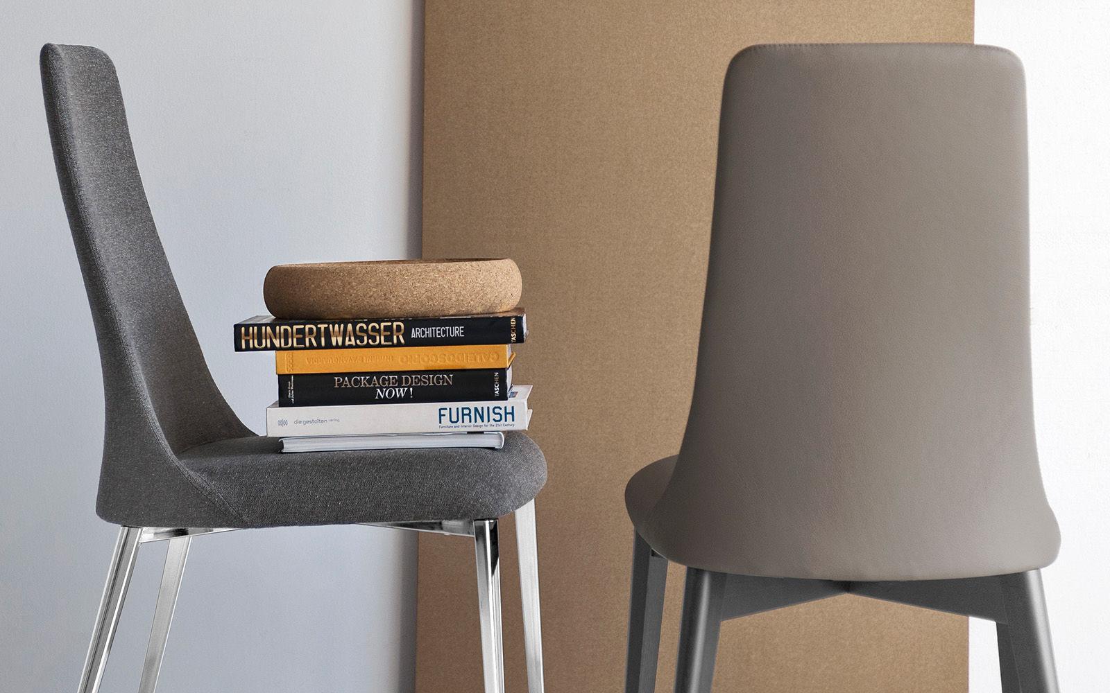 chaise contemporaine   tapissée   avec dossier haut   en frêne - ETOILE by Studio  28 3caca5d7daf2