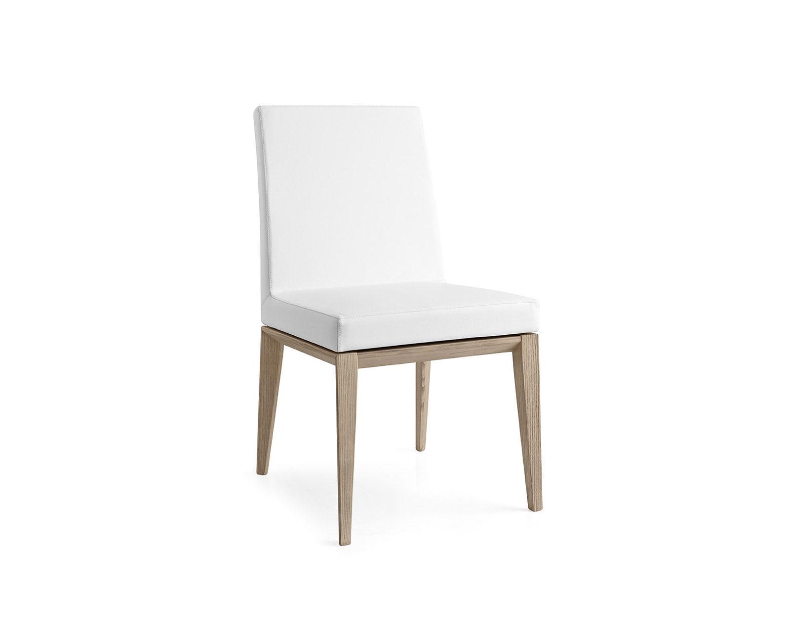 Chaise de salle à manger / contemporaine / en métal / en tissu ...