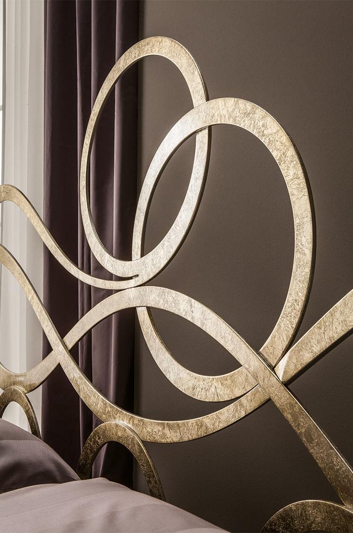Lit Double Design Nouveau Baroque Avec Tête De Lit En Fer - Lit fer forge design