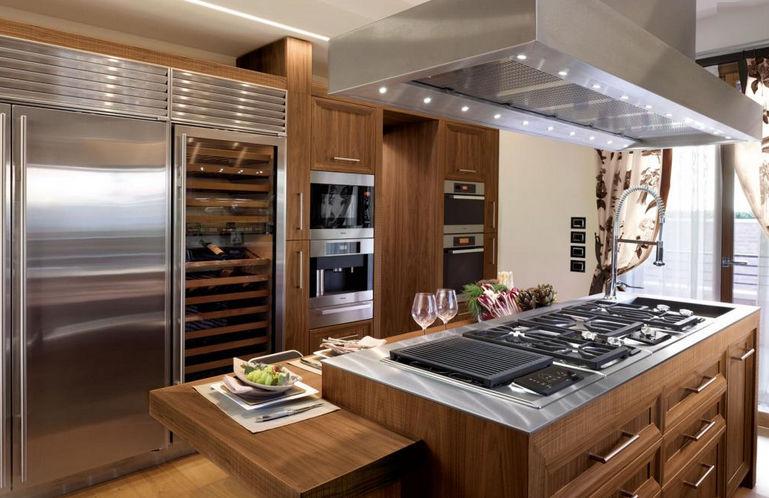 Bien connu Cuisine contemporaine / en inox / en bois massif / en bois  GC24