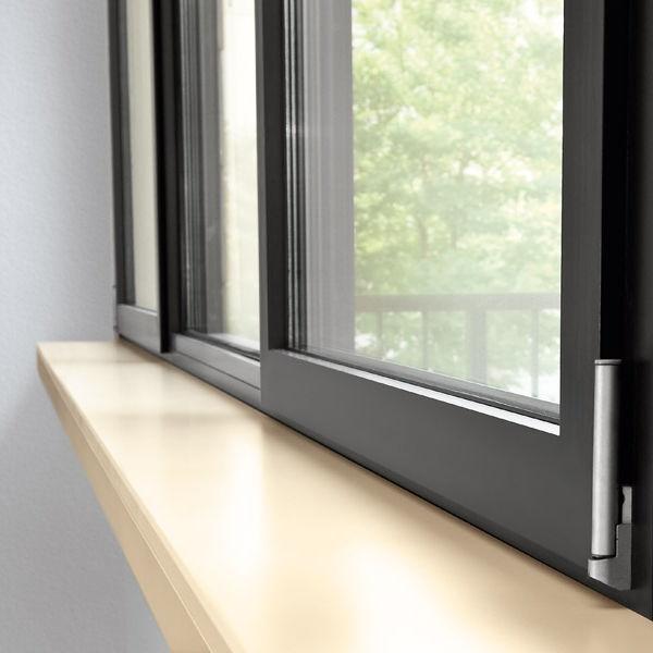 Appui de fenêtre en bois / d\'intérieur - COMPACT-DROP-NOSE - WERZALIT