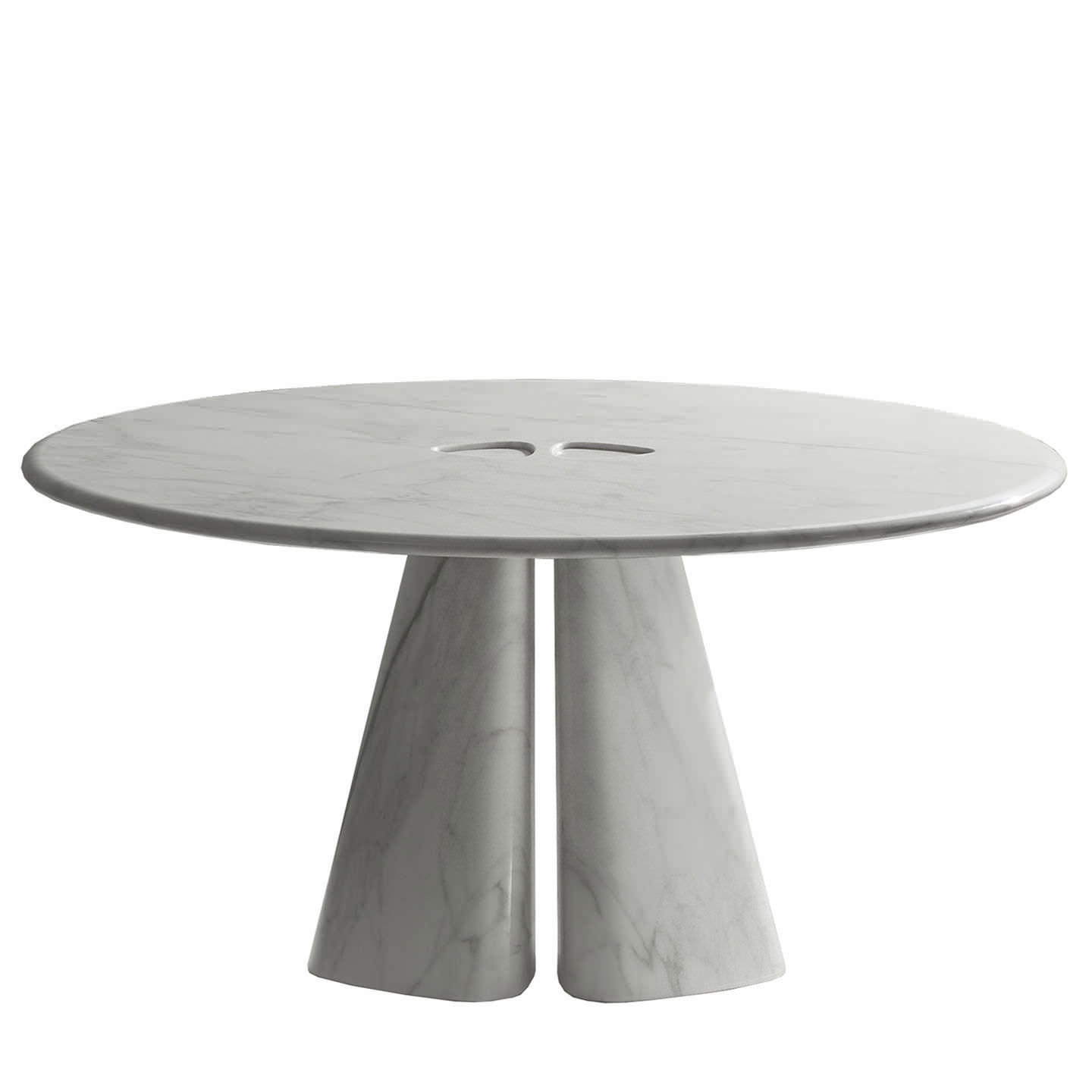 Table contemporaine / en marbre / ronde - RAJA BD 48 T by Bartoli ...