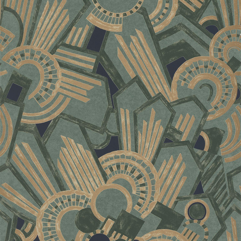 Papiers peints contemporains / à motifs / lavables - ELLINGTON ...