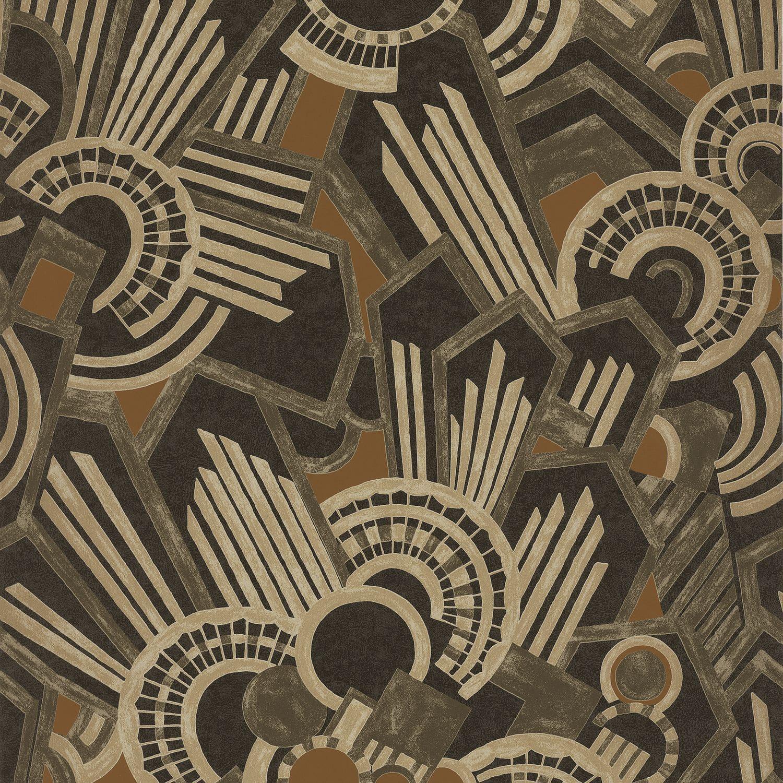 Papier Peint À Motifs à papier peint contemporain / à motif / lavable - ellington : atmos