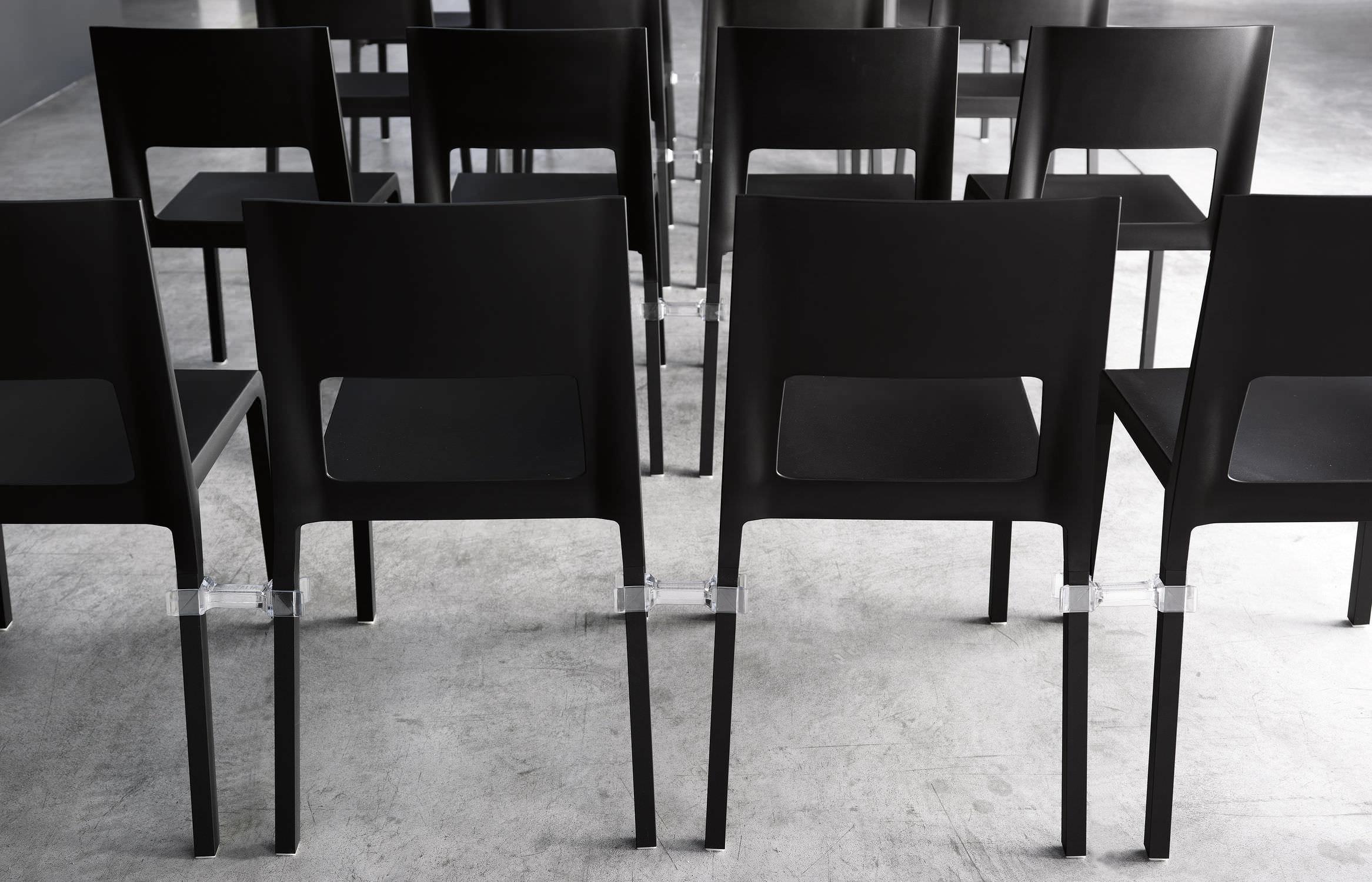 Chaise de salle à manger / contemporaine / en polyuréthane / à ...
