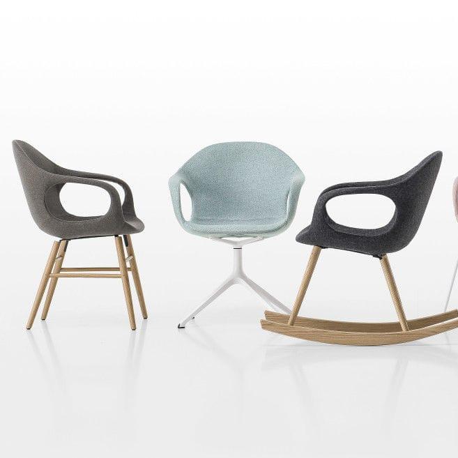 chaise design scandinave tapisse avec accoudoirs luge elephant by neuland paster geldmacher - Chaise Accoudoir Scandinave