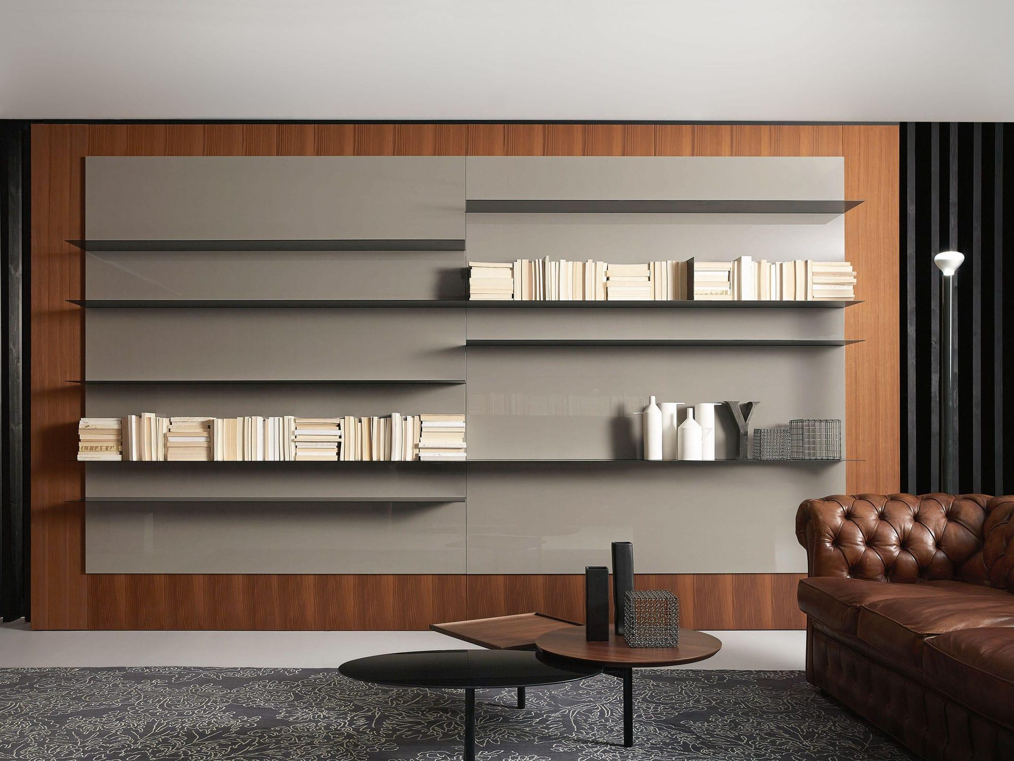 Biblioth Que Murale Fashion Designs # Meuble Bibliotheque Design Contemporain