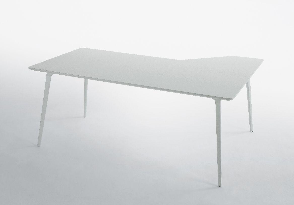 Bureau en mdf en aluminium contemporain professionnel fly