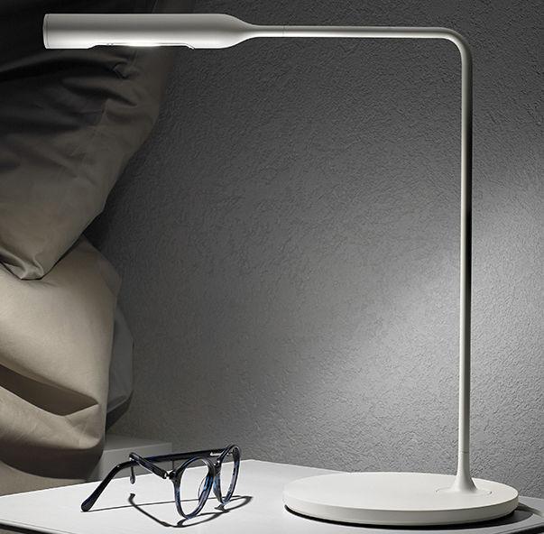 lampe de chevet / contemporaine / en aluminium / en acier - flo by