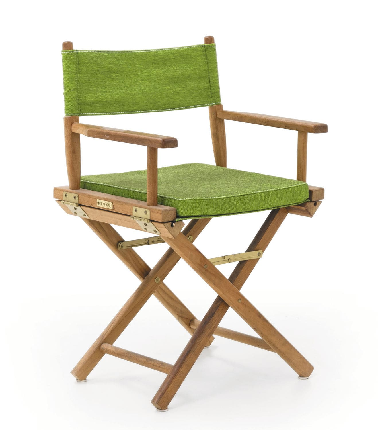 Chaise de jardin contemporaine pliante en noyer GINGER Unopiu