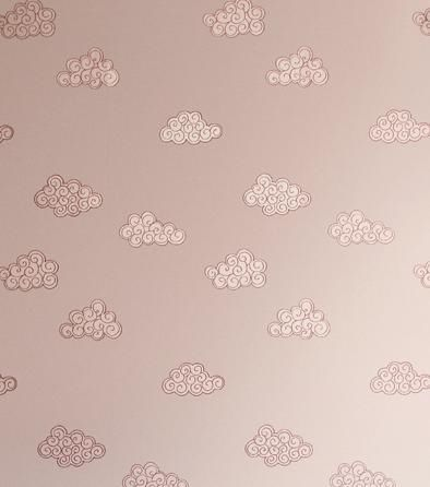 papier peint contemporain en textile motif pour fille claudia nw - Papier Peint Fille
