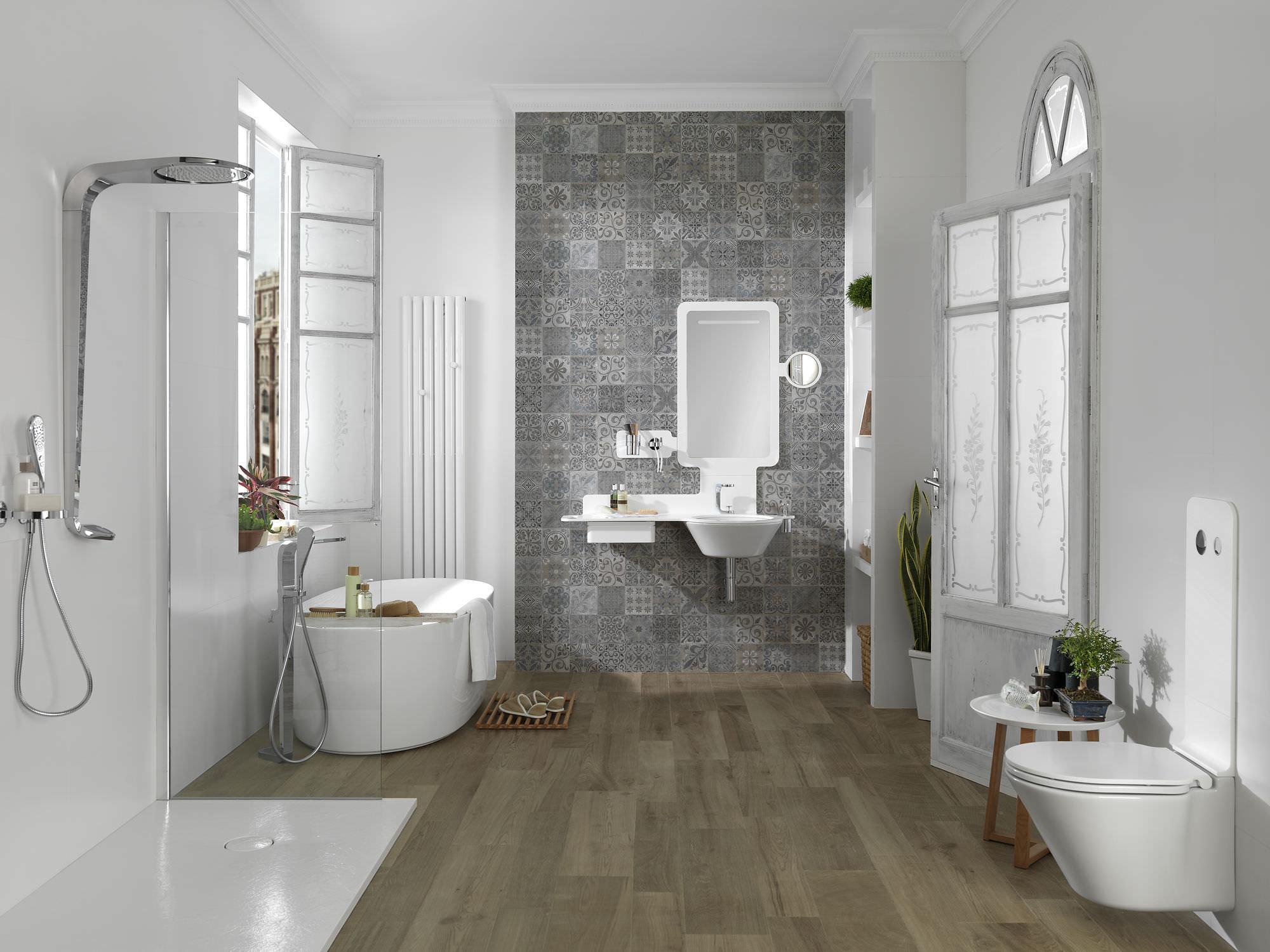 Salle de bain contemporaine / en céramique   mood   noken by ...
