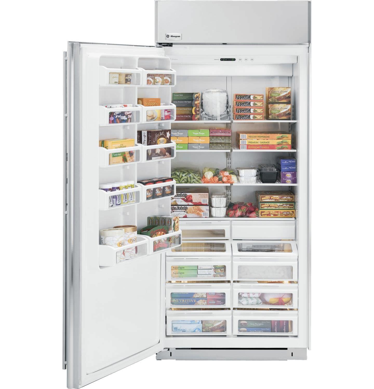 Congélateur armoire / blanc / à économie d\'énergie - ZIFP360NXRH ...