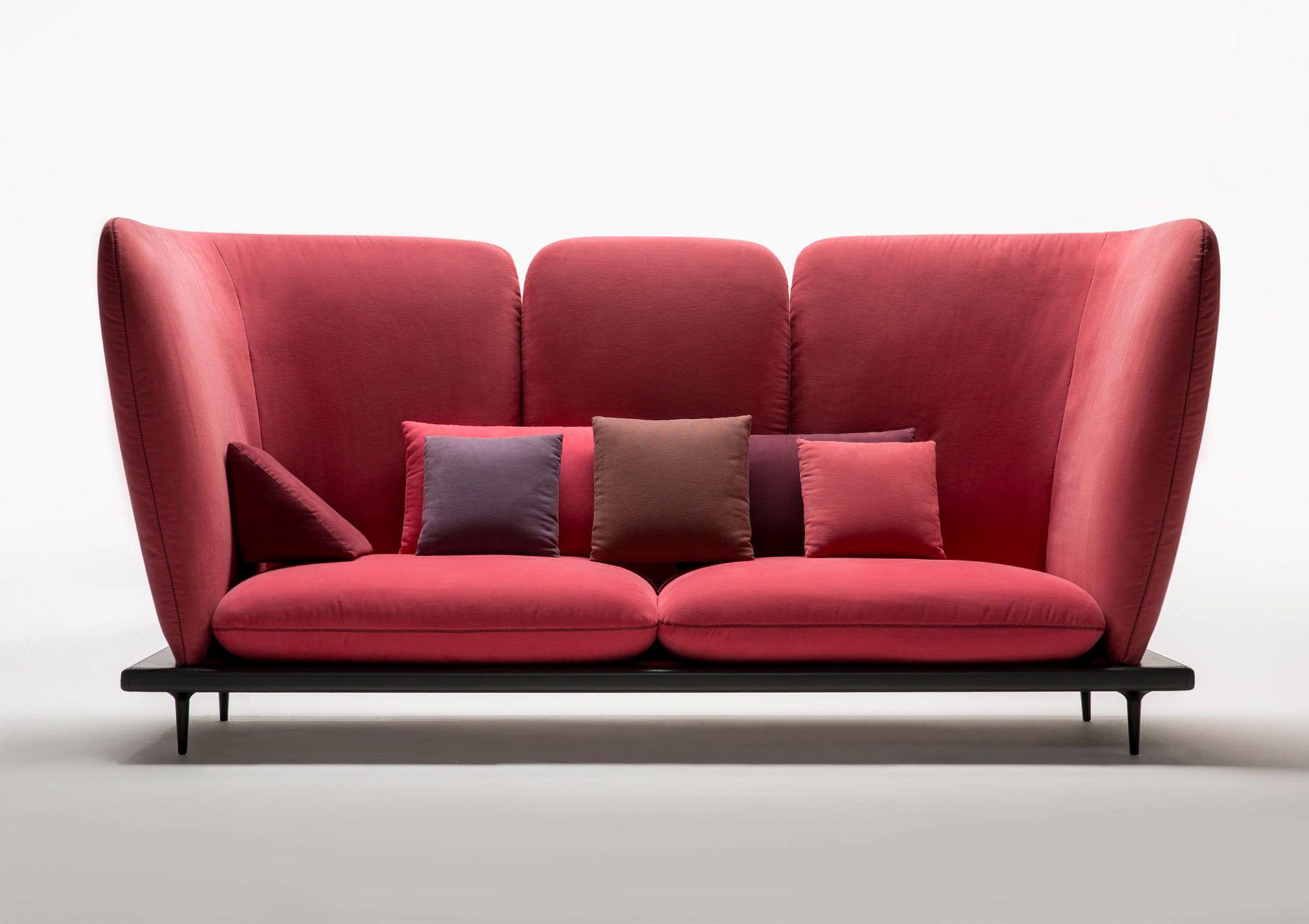 Canapé Design Original En Cuir En Tissu Places - Canapé tissu original