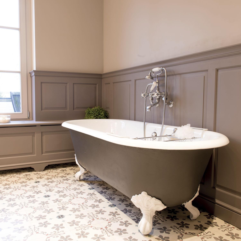 baignoire sur pieds / ovale / en fonte - dev.ba - kenny&mason