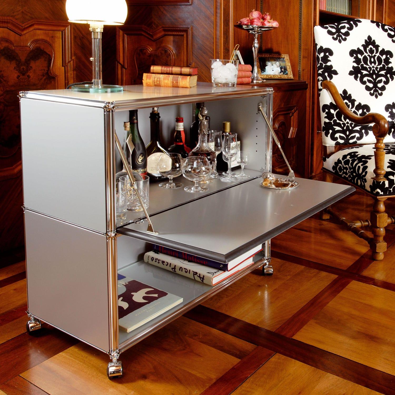 Meuble bar professionnel / contemporain / en métal - ARTMODUL AG