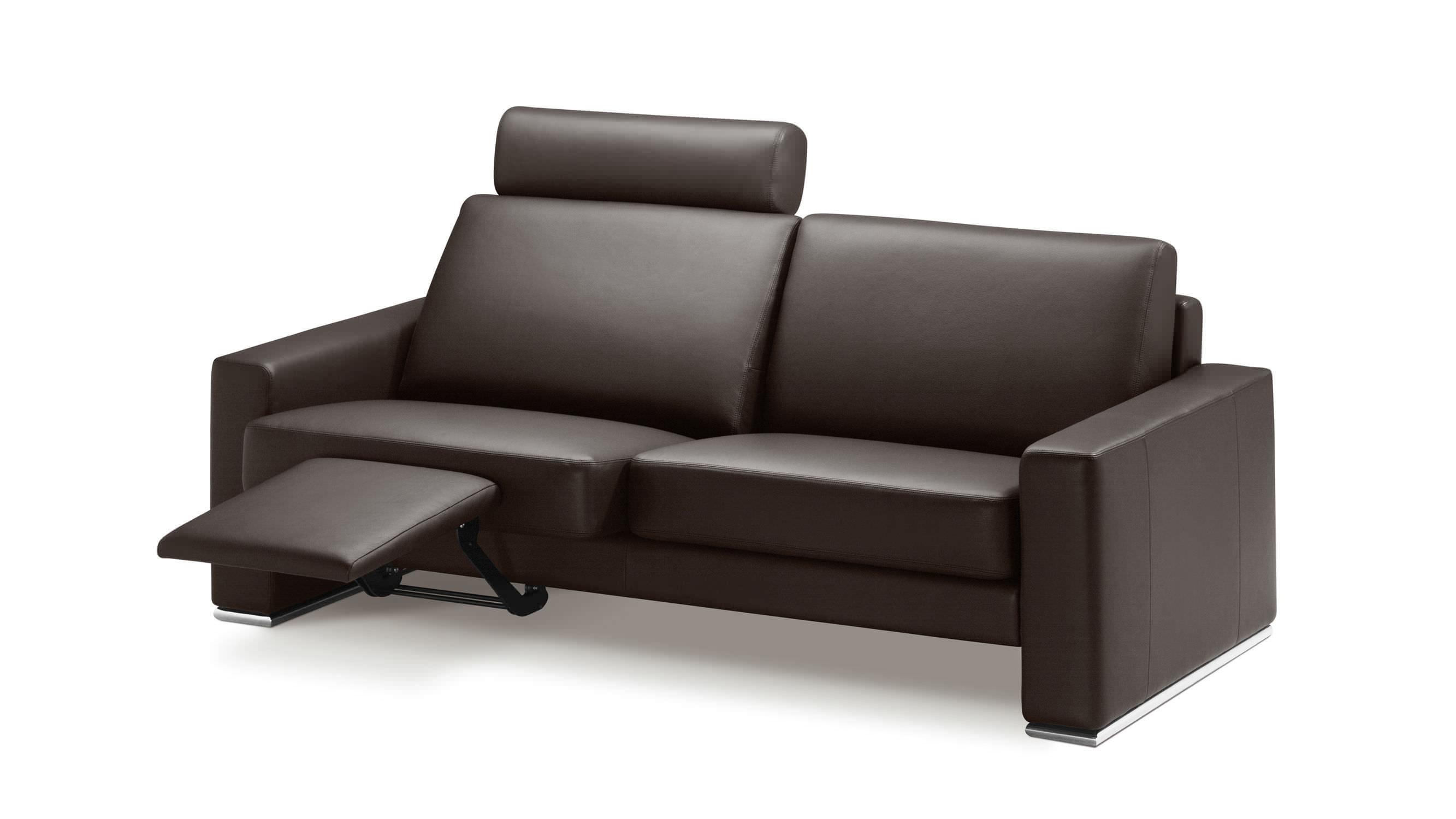 Canapé contemporain / en cuir / en tissu / 2 places - 2700 BOLERO ...