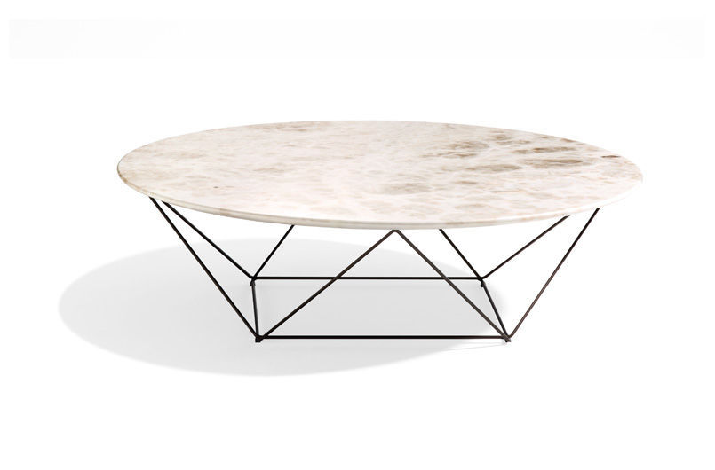 Table basse contemporaine / en marbre / en pierre naturelle / en ...