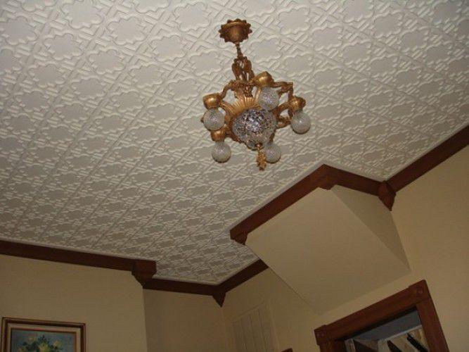 Faux plafond pvc
