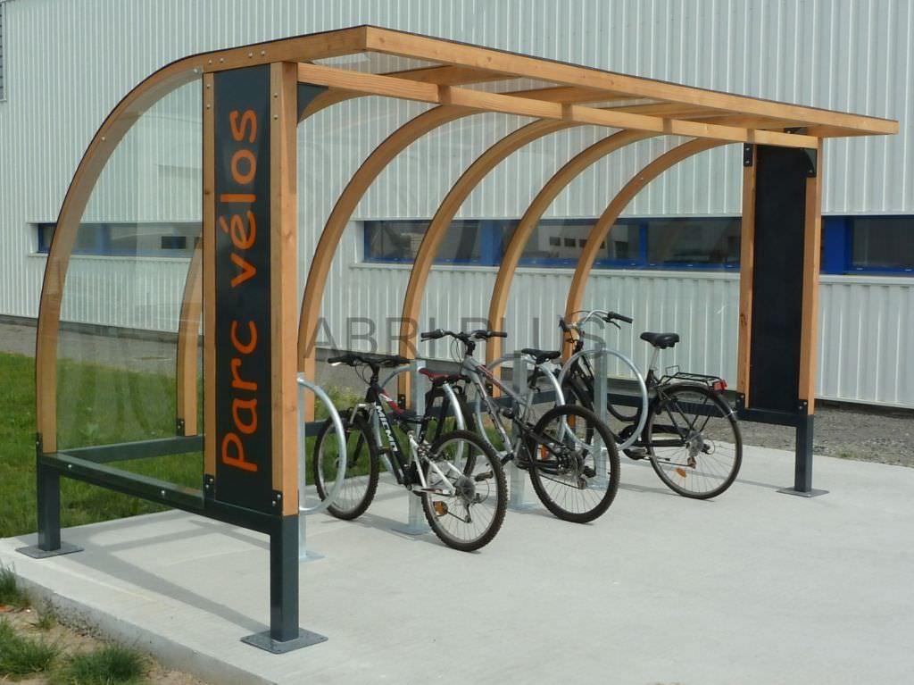Abri Vélo - Bois De Céné - Abri Plus
