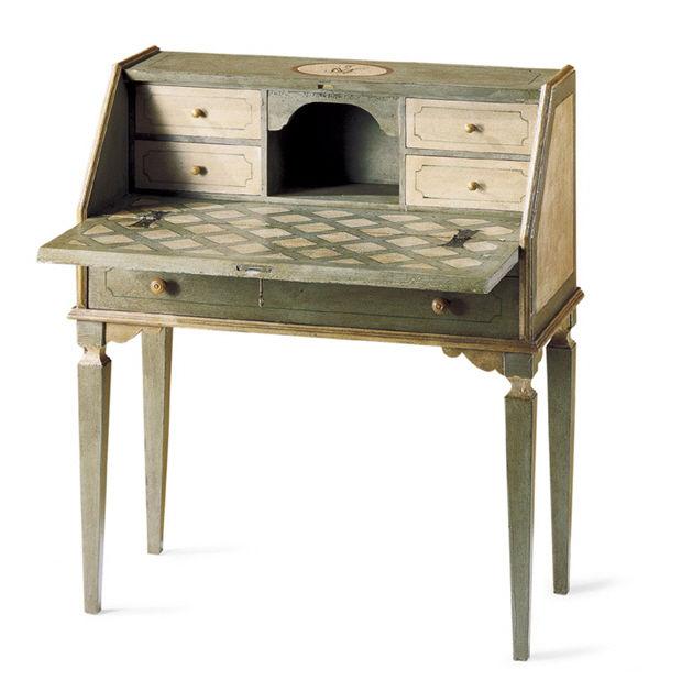 Meuble secrétaire de style en bois Mobili di Castello